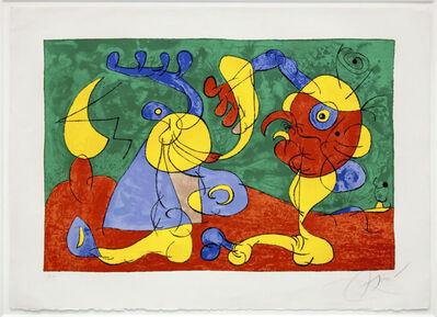 Joan Miró, 'Ubu Roi (Ubu King)', 1966