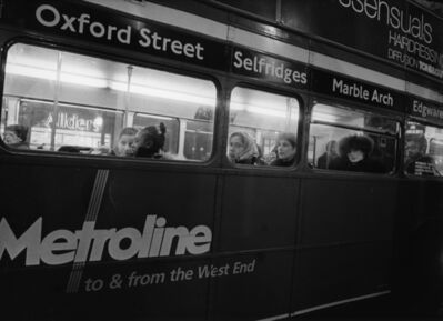 Daido Moriyama, 'London (Oxford street bus)', 2001-2004