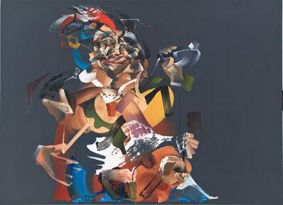 """Pieter Schoolwerth, 'Portrait of """"Loose Company"""" (after van Baburen)', 2011"""