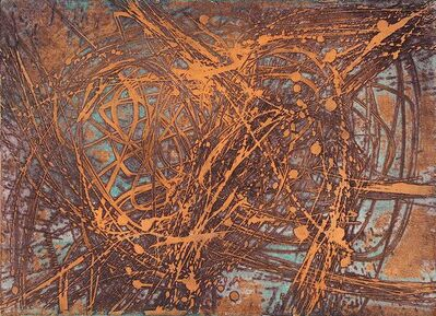 Stanley William Hayter, 'Goldfish', 1957