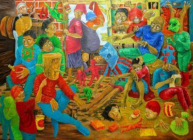DeDe Wahyudin, 'Manusia Kayu', 2009