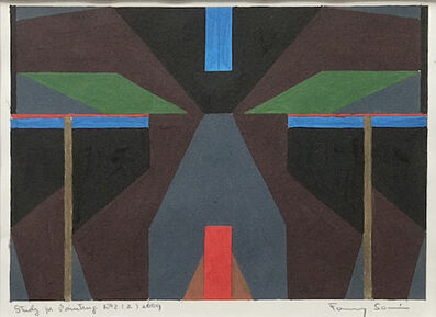 Fanny Sanin, 'Study for Painting No. 2 (2), 2009', 2009