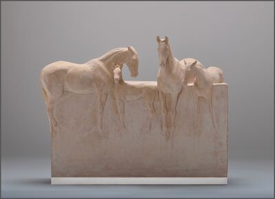 Susan Leyland, 'Mares and Foals', 2020