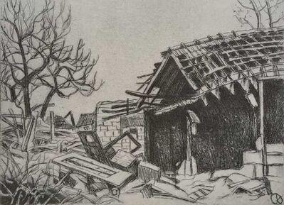 Jürg Kreienbühl, 'Maisonnette démolie', 1995