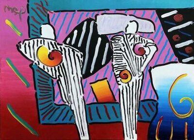 Peter Max, 'Time Line Degas Man, Version I, #5', 2003