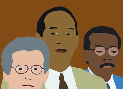 Kota Ezawa, 'The Simpson Verdict', 2002