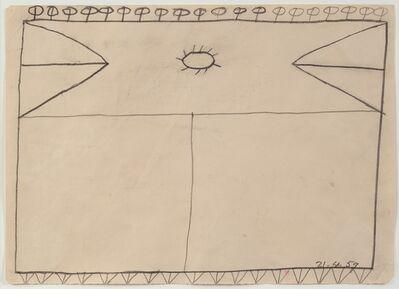 Bob Law, 'Drawing 21.4.59', 1959