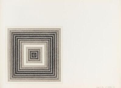 Frank Stella, 'Sharpesville (State II)', 1973