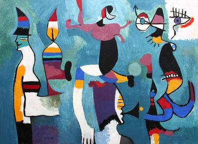 George Gordienko, 'Proper Mental Focus Under Seige Rest in Pieces', 1998