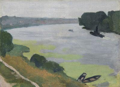 Albert Marquet, 'La Seine à Herblay', 1919