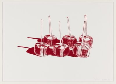 Wayne Thiebaud, 'Suckers State II', 1968