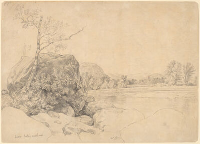 Daniel Huntington, 'Saco, Looking Northwest', mid 1860s