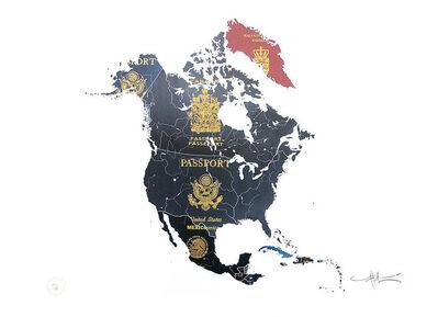 Yanko Tihov, 'North America', 2016