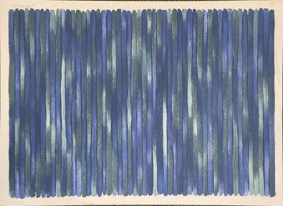 Gene Davis, 'Adam's Rib', 1980