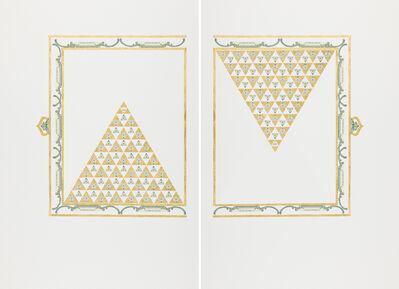 Abdullah  M. I. Syed, 'Illuminated Prisms Manuscript I: Pgs. 1 & 2 (Diptych)', 2017