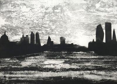 Jason Hicklin, 'The Thames. Kings Reach. Waterloo Bridge', 2019