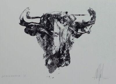 Marc Prat, 'Marc Prat, screenprint Toro III, unique print', 2018