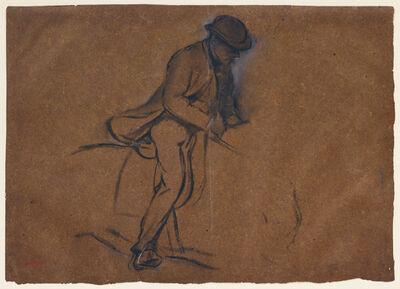 Edgar Degas, 'Man Riding', 1834-1917