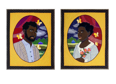 Stephen Towns, 'Let Not Man Put Asunder: Portrait of Nat and Cherry Turner', 2018