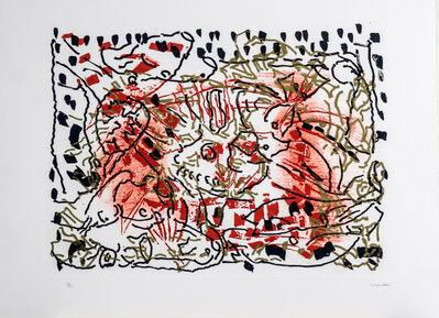Jean-Paul Riopelle, 'L'Oie de feu - L'Oie au soleil', 1990