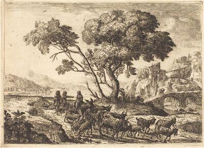 Claude Lorrain, 'Departure for the Fields', 1638/1641
