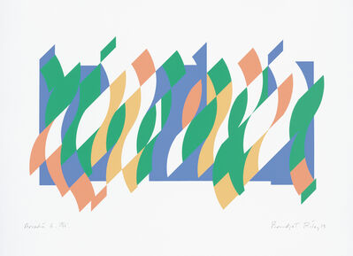 Bridget Riley, 'Arcadia 6', 2013
