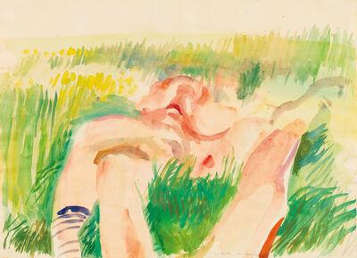 Maria Lassnig, 'Im Garten', 1966