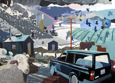Justin Kim, 'Full Moon, Deep Springs, CA', 2015