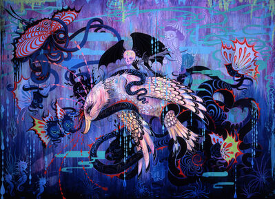 Camille Rose Garcia, 'The Hydra of Babylon', 2009