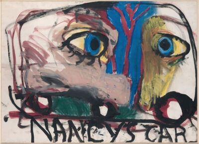 Jim Dine, 'Nancy's Car', 1960