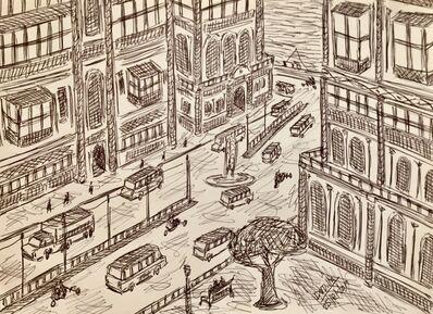 Damian Valdes Dilla, 'Cityscape No. 3', 2017