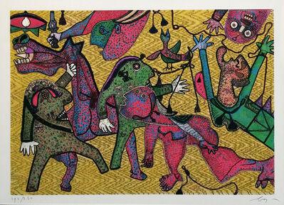 Enrico Baj, 'GUERNICA DETAIL', 1975