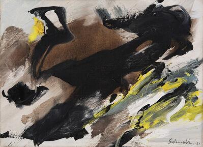 Gérard Schneider, 'Peinture 4/F', 1961
