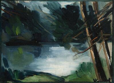 Maurice de Vlaminck, 'Bord de l'étang'