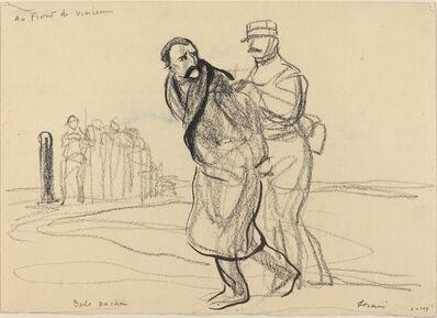 Jean-Louis Forain, 'Au Front de Vincennes.  Bolo pacha', ca. 1914/1919