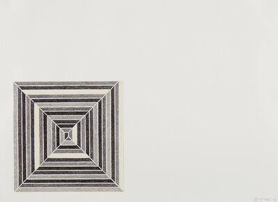 Frank Stella, 'Hyena Stomp, from Jasper's Dilemma', 1973
