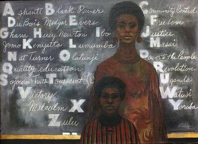 Cliff Joseph, 'Blackboard', 1969