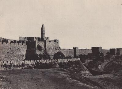 Maxime Du Camp, 'Palestine: Jeruselum, Partie Occidentale des Murailles', Neg. date: 1851 c. / Print date: 1851 c.