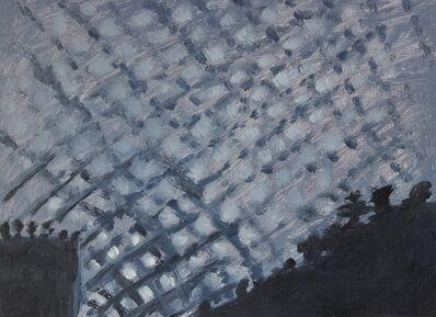 Lois Dodd, 'Cloud Formation #1, July', 2008
