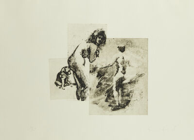 Eric Fischl, 'Boy, Woman, Dog, from the portfolio Boy, Woman, Dog', 1993