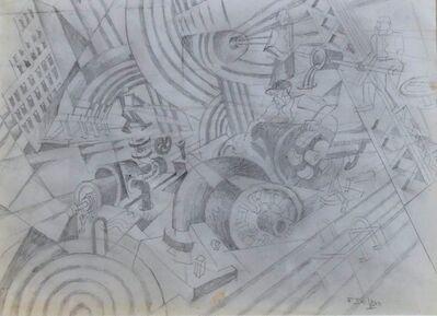 Fortunato Depero, 'Cantiere sonoro', 1932