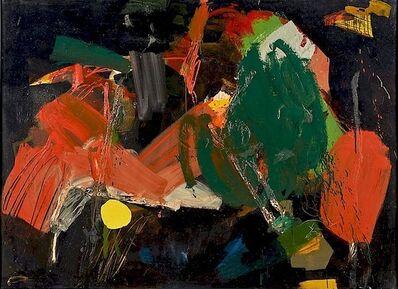 Robert S. Neuman, 'Black #4', 1956