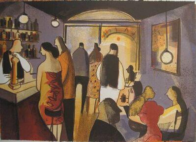 Didier Lourenço, 'Bar blau', 2011