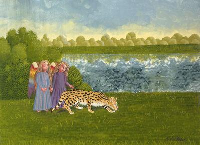 Isabel Villar, 'El serval y sus ángeles', 2020