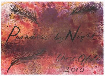 Chris Ofili, 'Paradise by Night', 2010