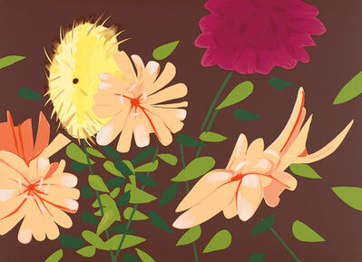Alex Katz, 'Late Summer Flowers', 2013
