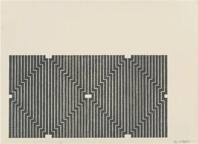 Frank Stella, 'Casa Cornu, from Aluminum Series', 1970