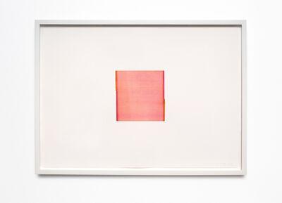 Callum Innes, 'Quinacridrone Magenta / Gold Green (no. 6.)', 2013