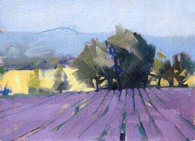 Maggie Siner, 'Lavender D', 2018
