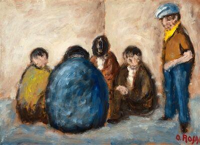 Ottone Rosai, 'La toppa', 1956
